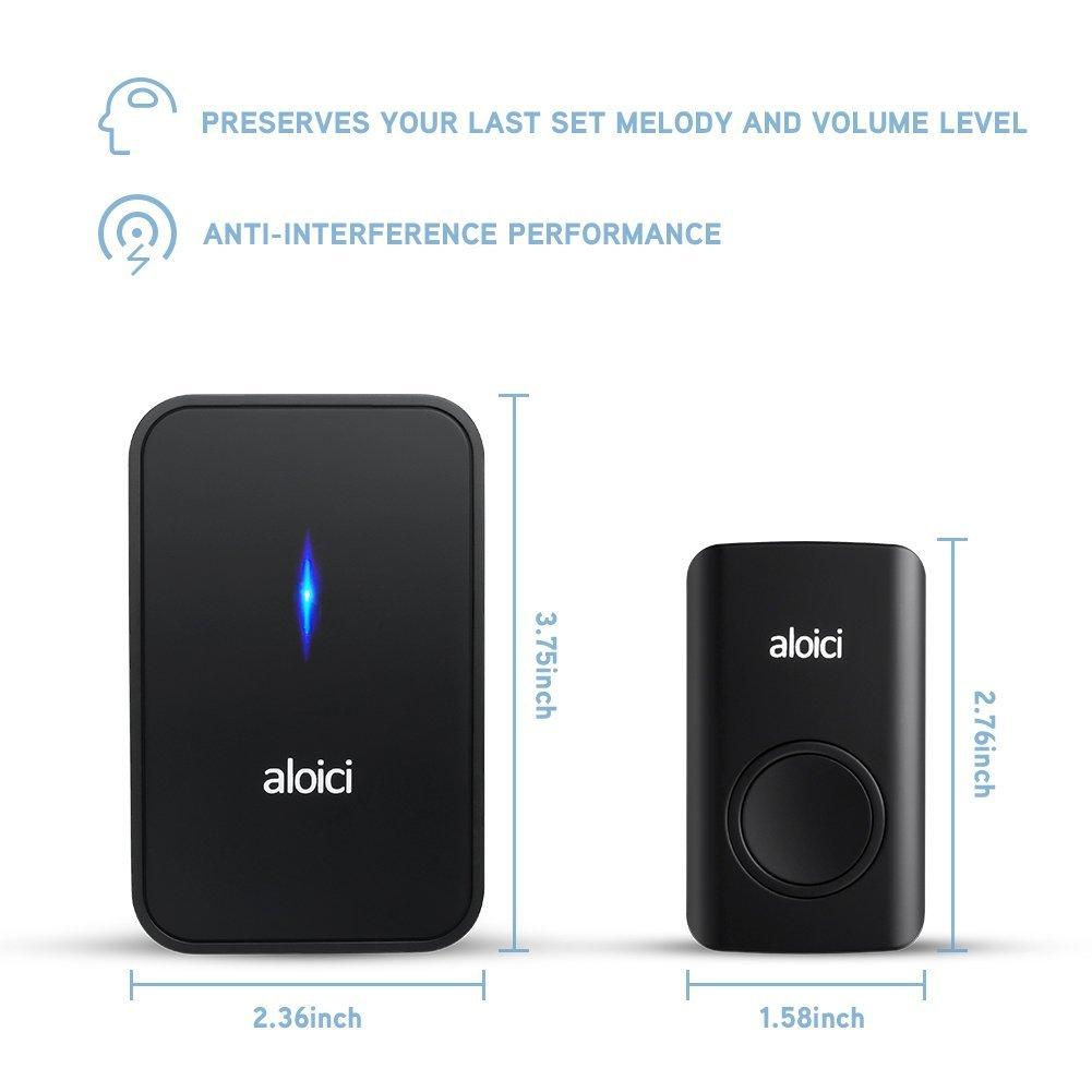 Battery Doorbell Amp Tatco Wireless Doorbell Battery
