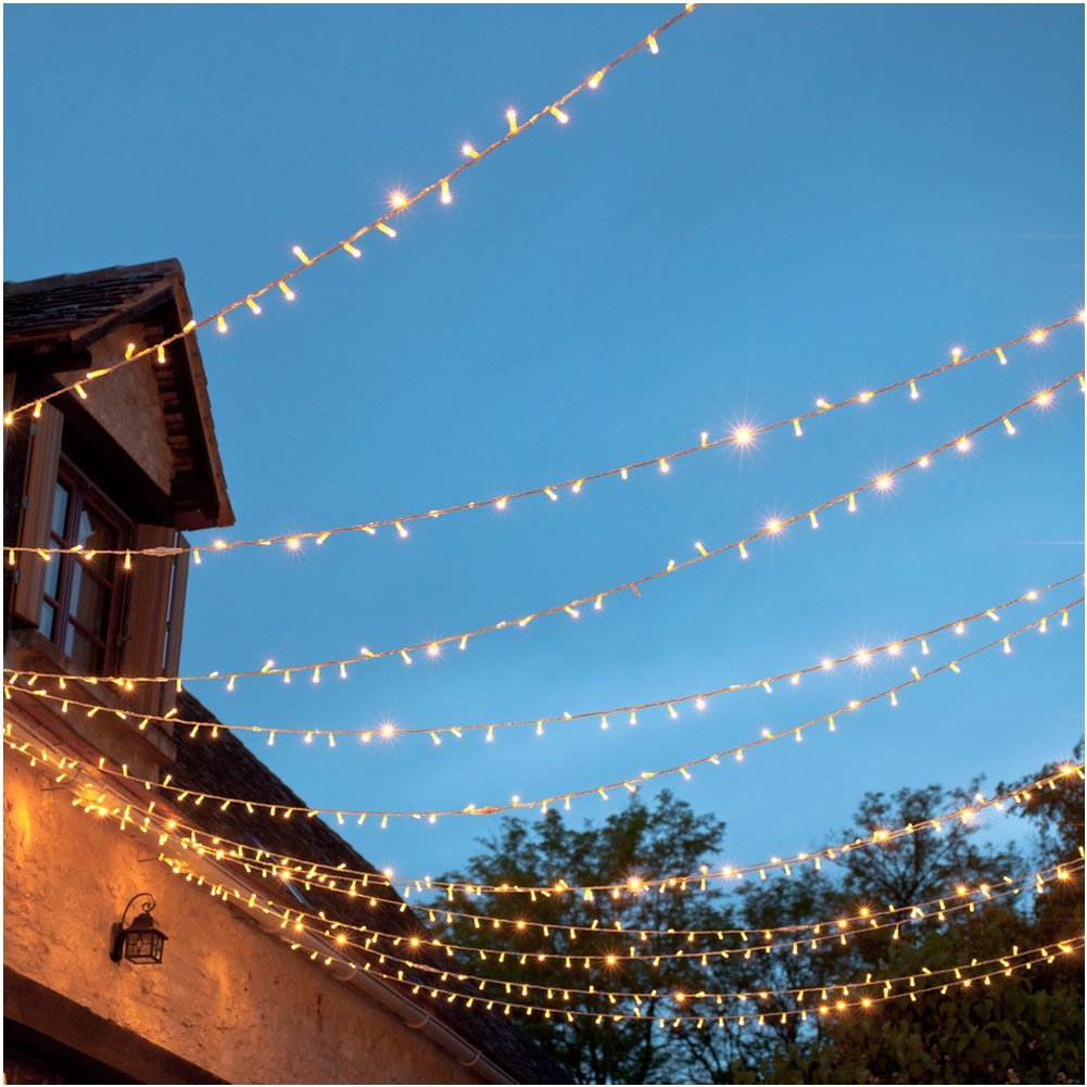 36ft 100LED Battery Waterproof Wire Copper Fairy String lights(Timer ...